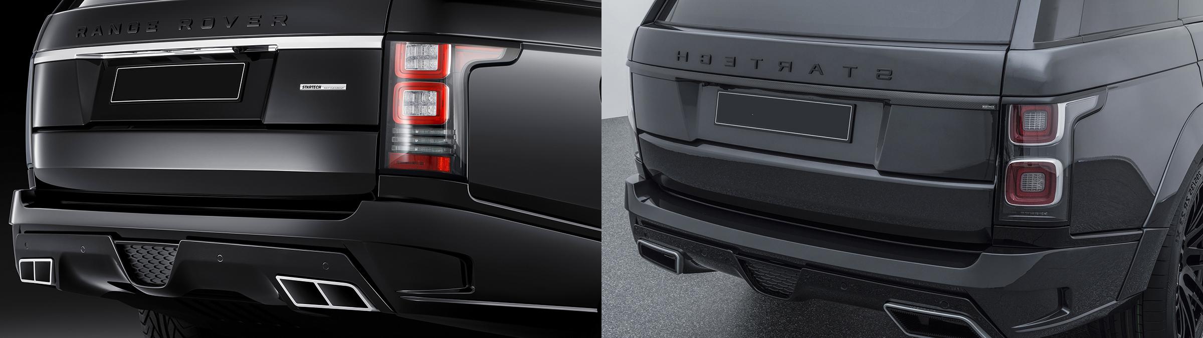 Сравнение фар Range Rover 2013-2018