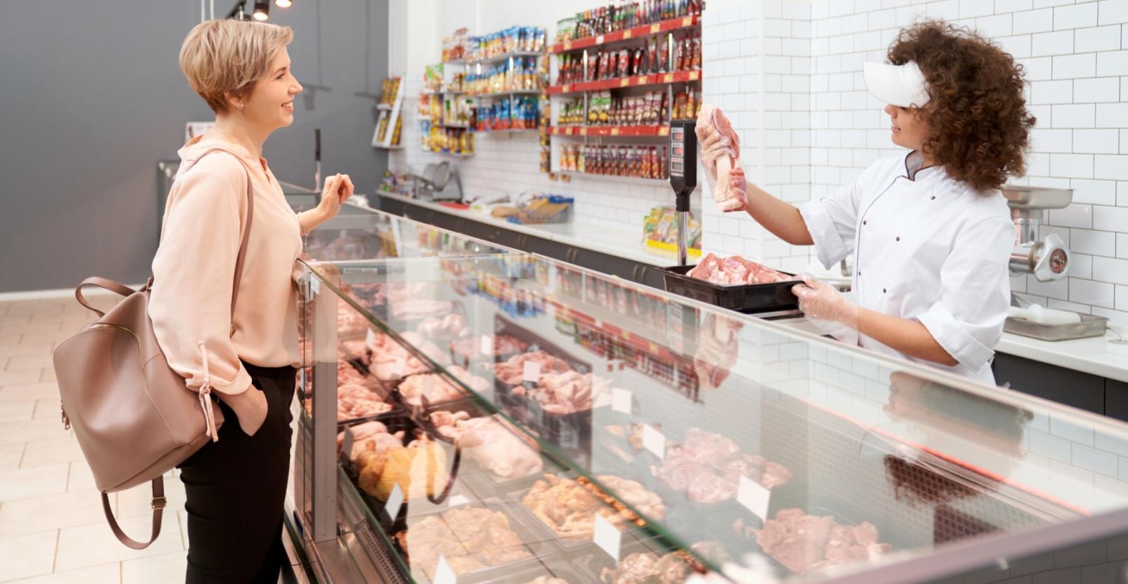 холодильная витрина для мяса