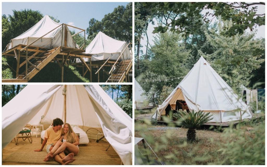 Палаточный серф-кемп в Испании