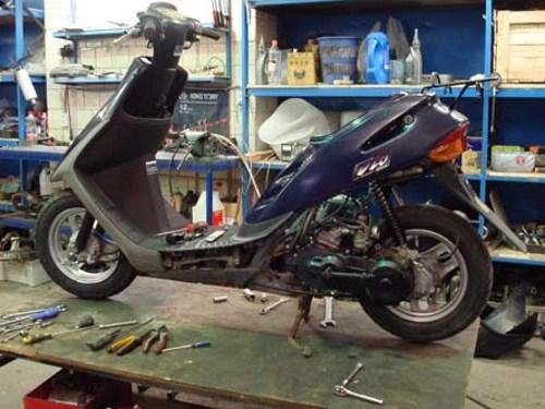 Сервис по ремонту скутеров