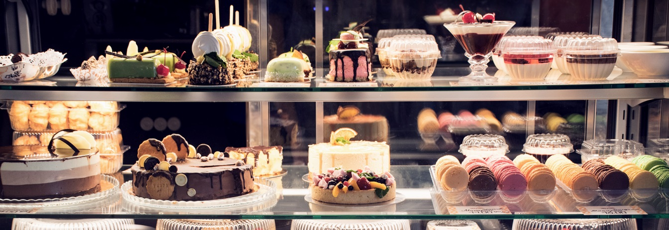 кондитерские витрины для тортов