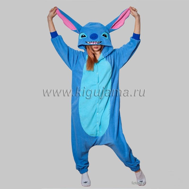 Пижама кигуруми Стич на заказ