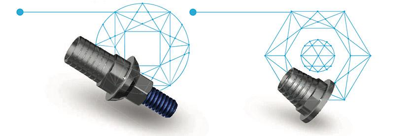 Титановые платформы и адгезивные колпачки
