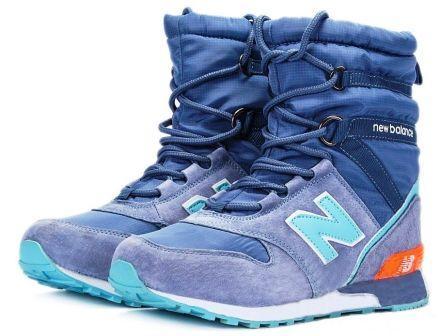 зимние сапоги кроссовки New Balance Turquoise