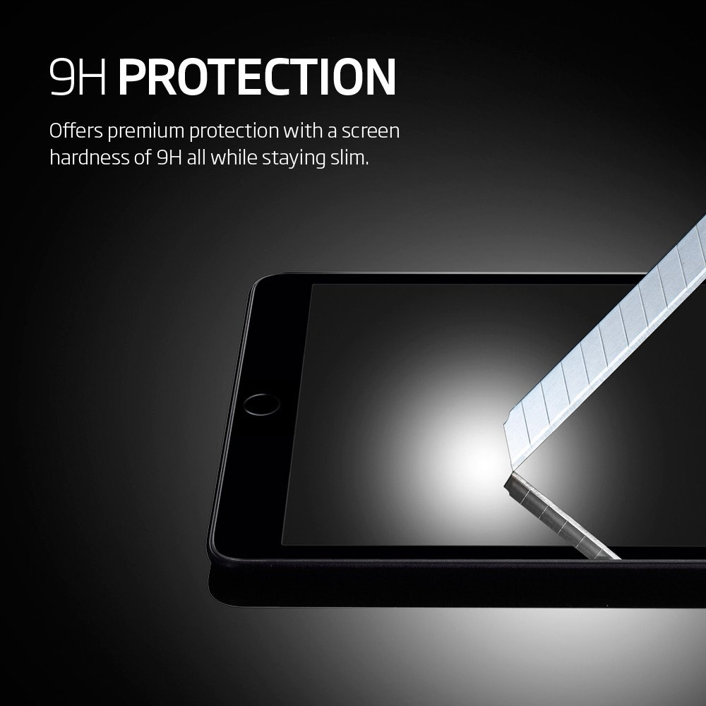 Spigen Oleophobic Coated Tempered Glass Glas.tR Slim SGP11801 - защитное стекло для iPad Mini 4