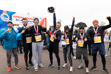 MaxMassage на марафоне
