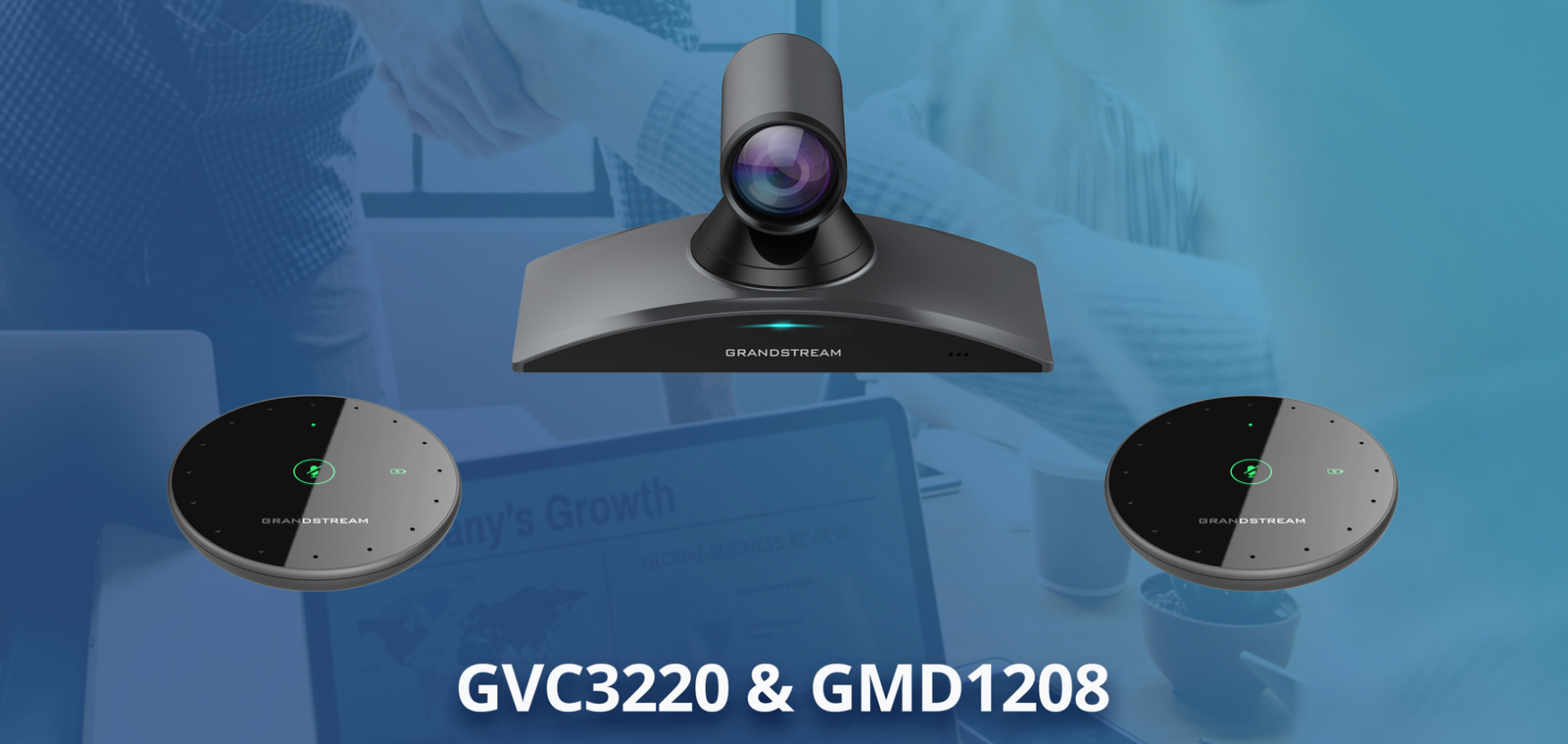 grandstream gvc3220 and gmd1208