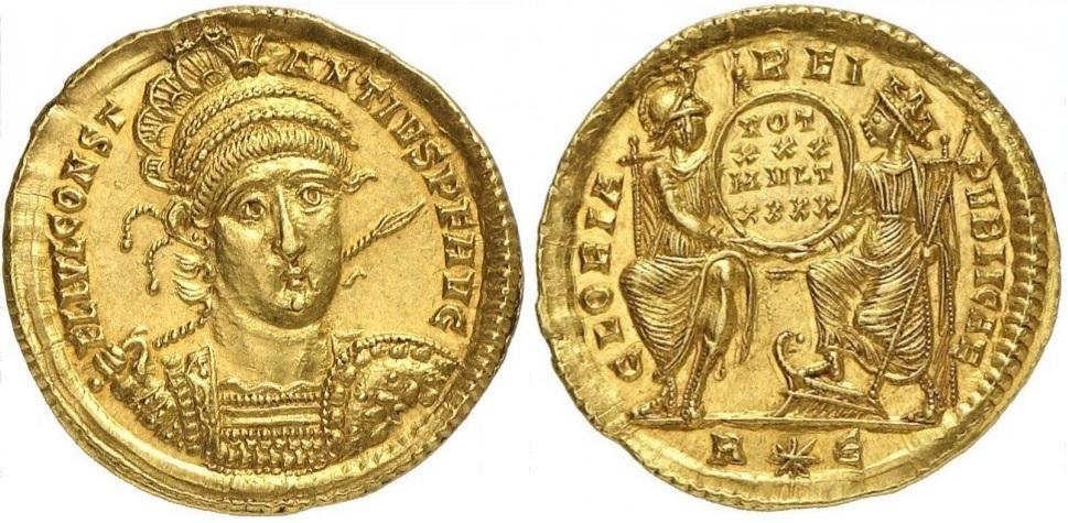 Солид (352-355 годы н.э.)