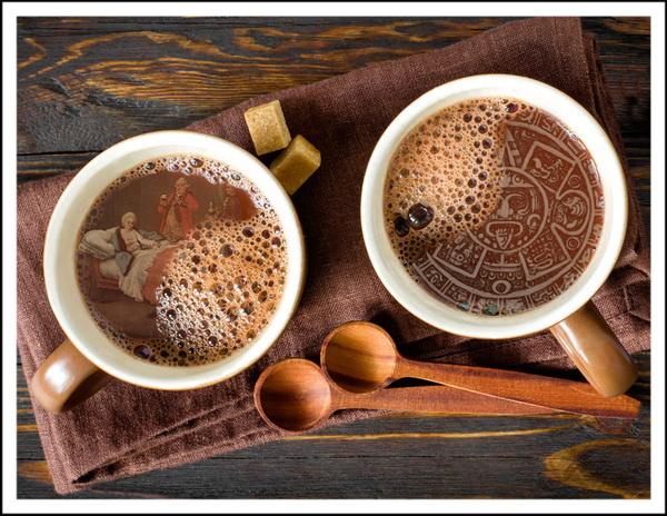 История появления какао в Европе