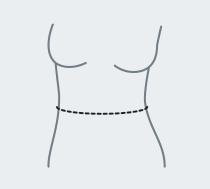 Измерение обхвата талии
