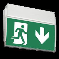 ESC 90 Световой эвакуационный указатель для автомобильных парковок и паркингов