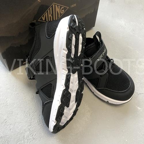 Кроссовки Викинг Moholt Black Grey с доставкой в интернет-магазине Viking-boots