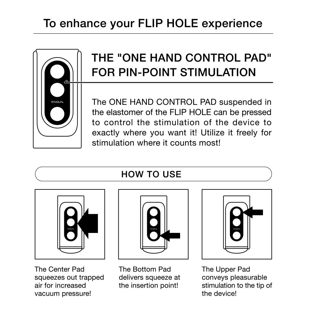 Tenga - Flip Hole Masturbator silver инструкция