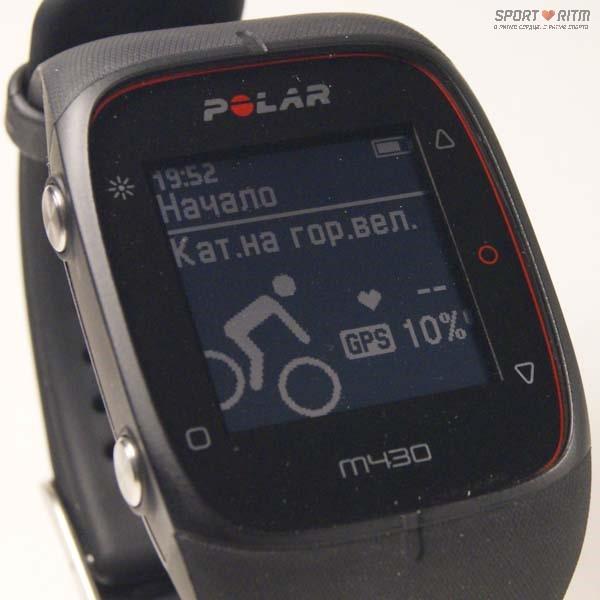 виды спорта в Polar M430