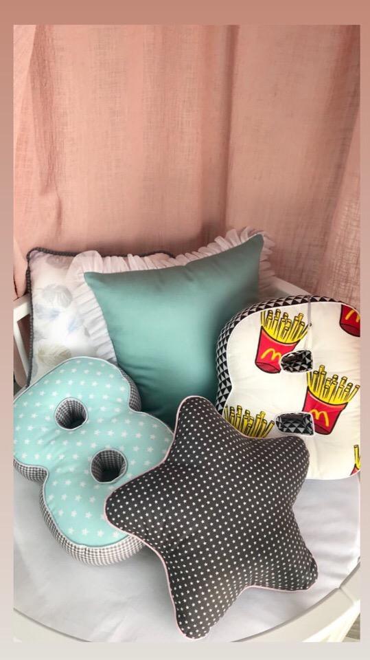 Ткани для пошива подушек букв