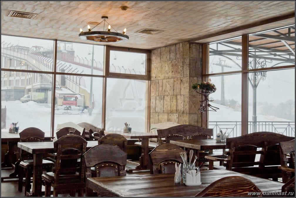 Зимнее кафе спортивно-развлекательного комплекса Квань г.Калуга