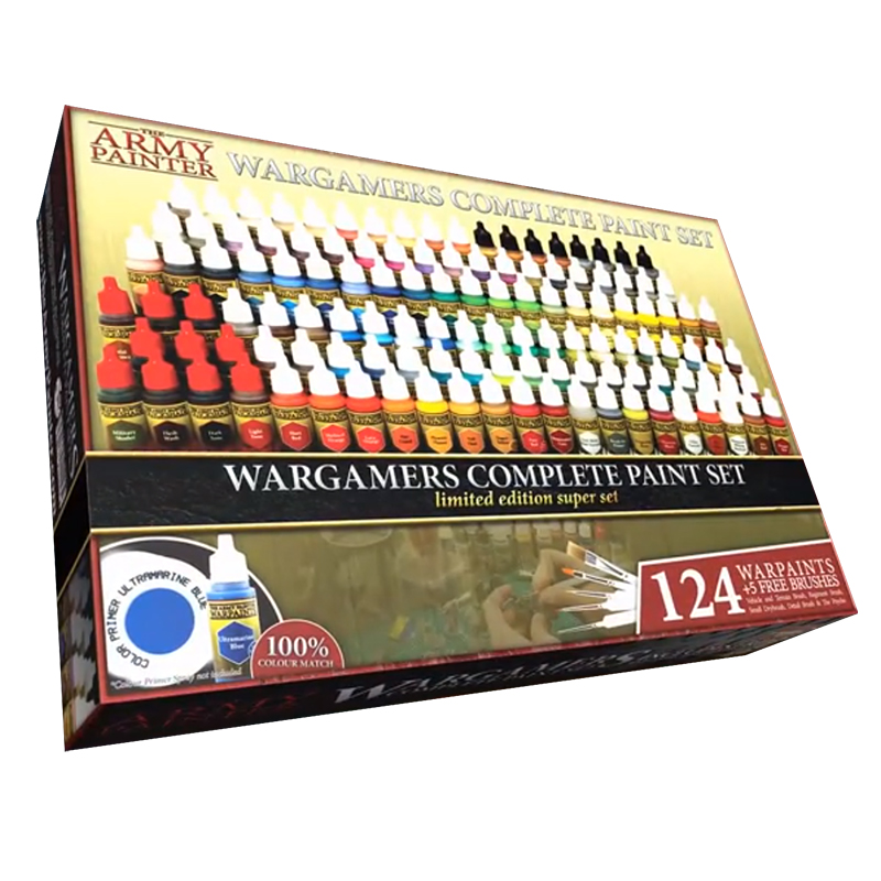 Wargamers Complete Paint Set