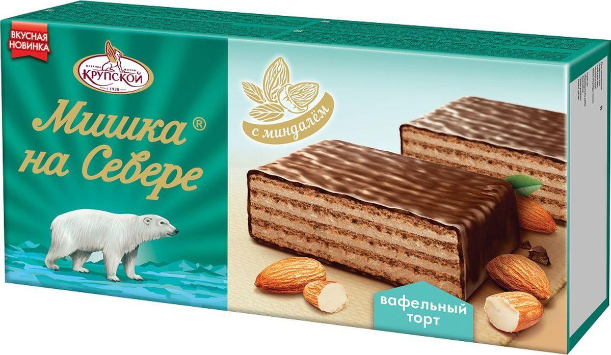 Торт Мишка на Севере - фабрика имени Крупской