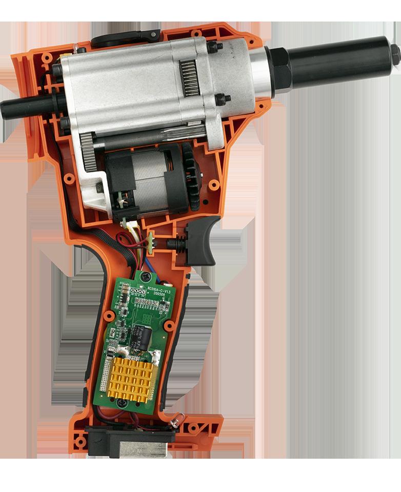Обзор разобранного заклепочника Messer CQ-60025
