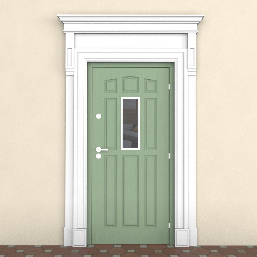 Обрамление наружное для двери