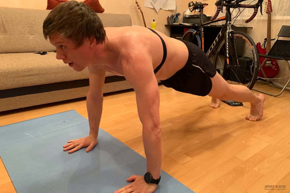 Фитнес с Polar H10