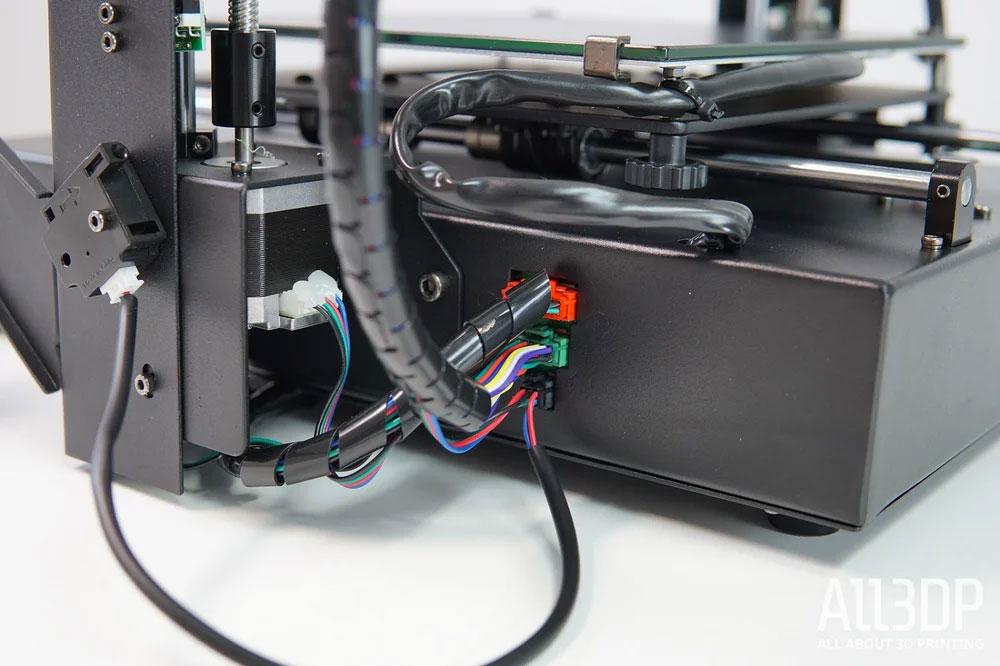 Аккуратные кабельные сборки Mega X. Ошибиться с подключением невозможно