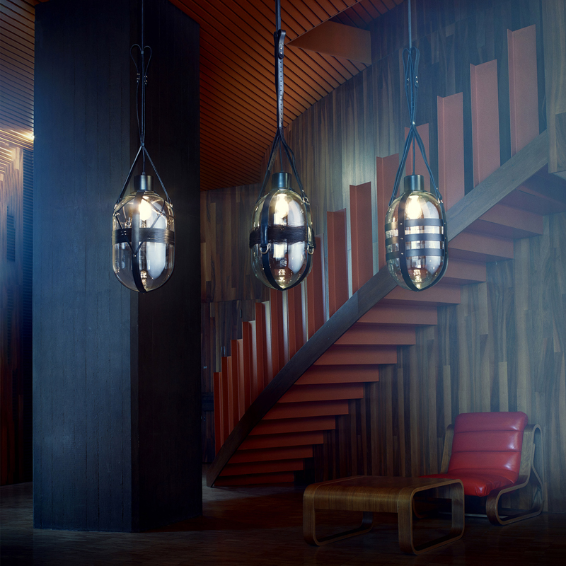 Светильники Tied Up Romance от Bomma