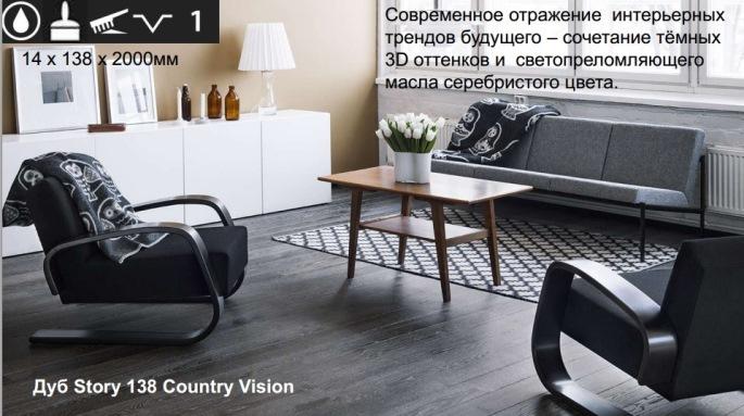 Паркетная доска / Karelia / Коллекция TIME