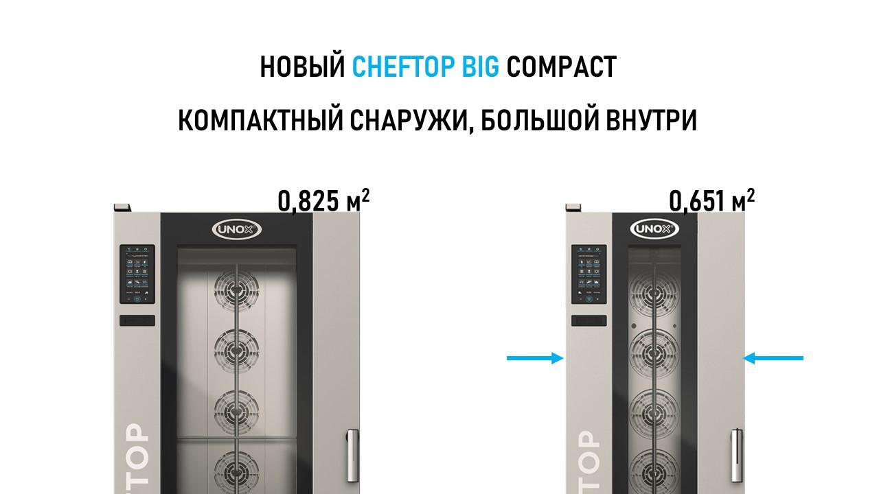 напольный пароконвектомат CHEFTOP MIND BIG COMPACT