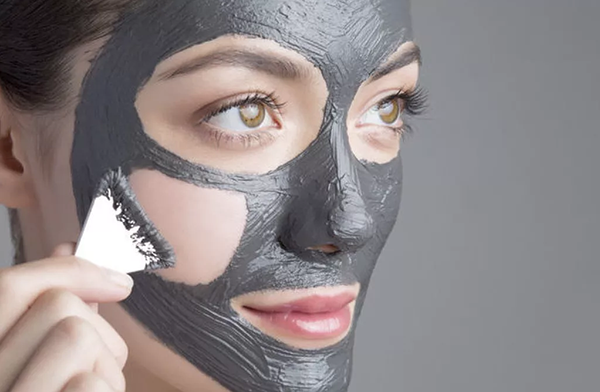 Глиняная маска от черных точек