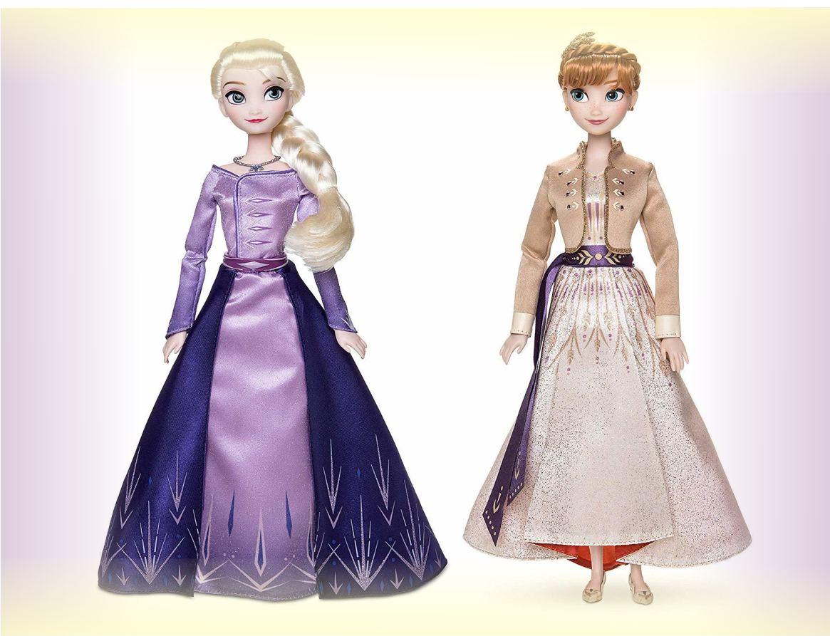 Набор кукол Эльза и Анна из Холодное сердце 2 от Дисней