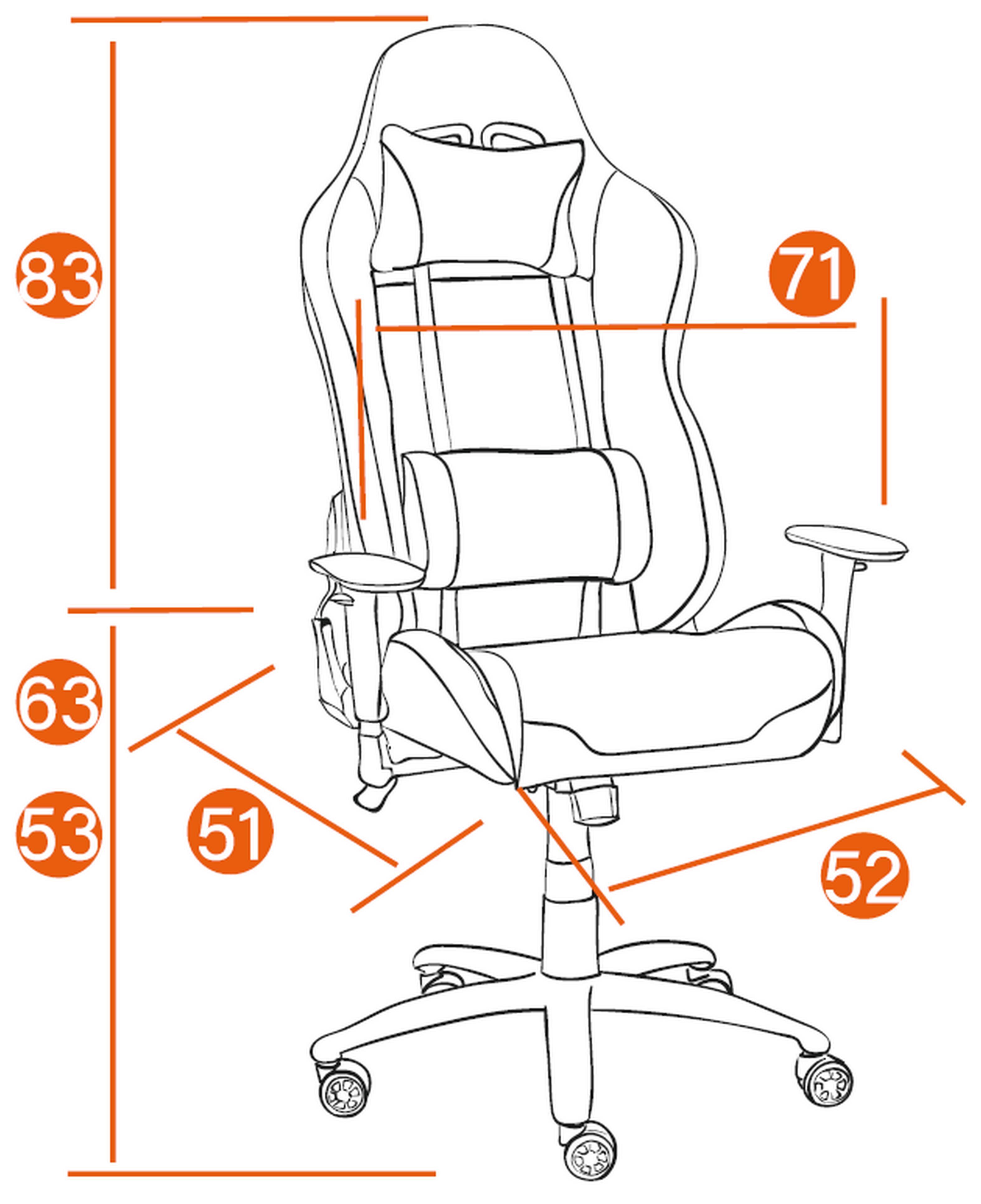 Размеры Кресла iChess