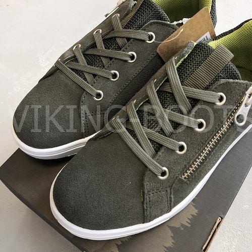 Кеды Viking Kasper Huntinggreen Olive купить в интернет-магазине Viking-boots