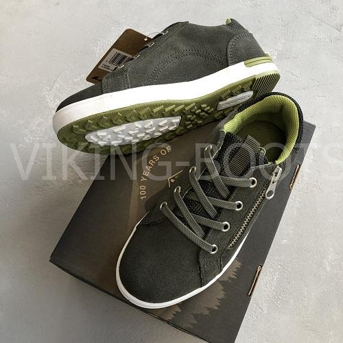 Кеды Викинг Kasper Huntinggreen Olive с доставкой в интернет-магазине Viking-boots
