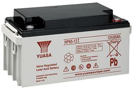 Аккумуляторные батареи Yuasa NP 65-12I