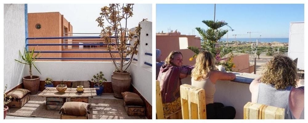 Серф-кемп в Марокко выглядит так