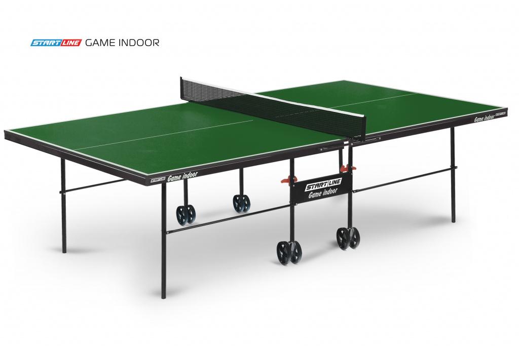 Теннисный стол Start Line Game Indoor Green