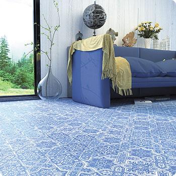 PNT-4 BLUE Итальянская мозаика мрамор Skalini Pantheon