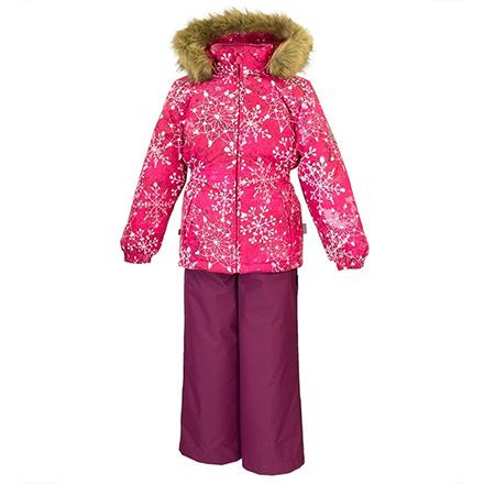 комплект зимний для девочки хуппа