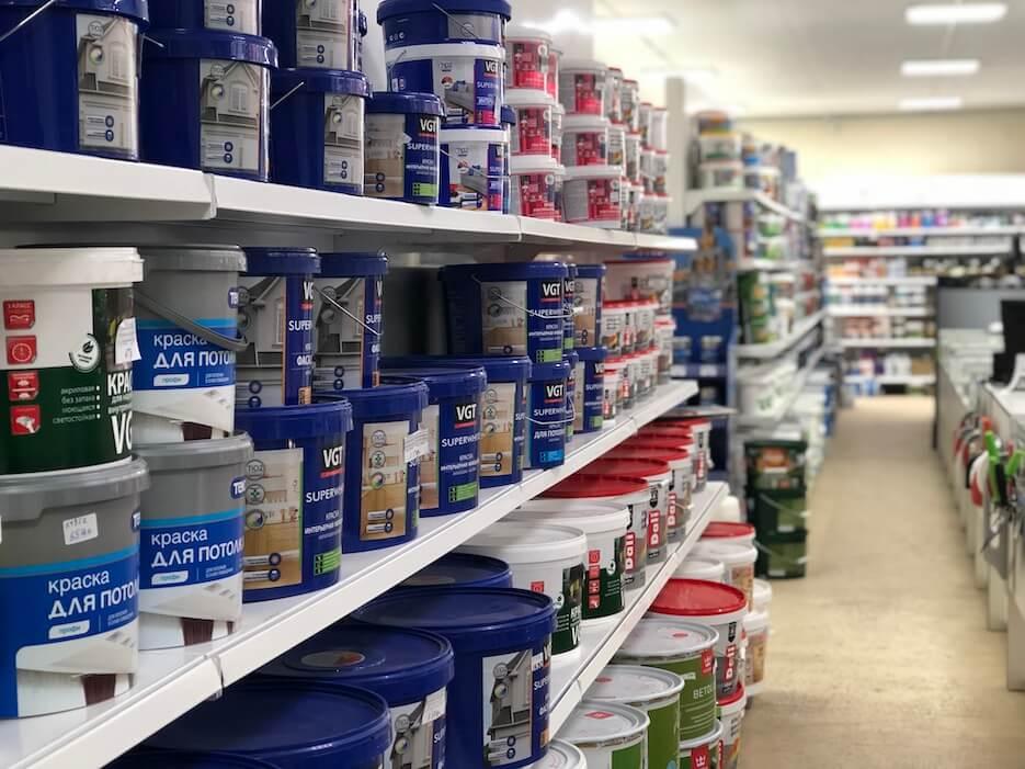 Краска для стен в СтройМаркете ДляСтроителей.рф в Заокском районе