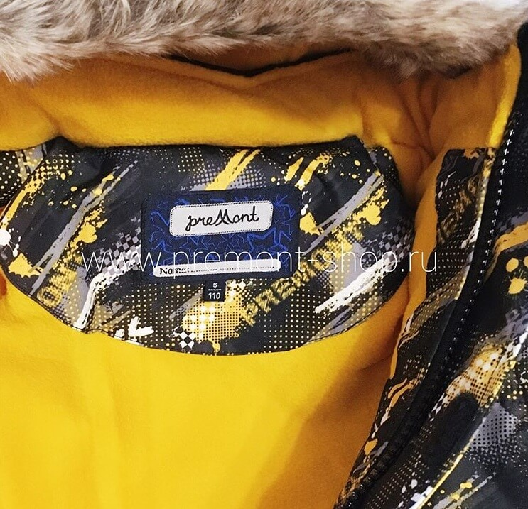 Флисовый подклад на комплекте Premont Кросс Ралли