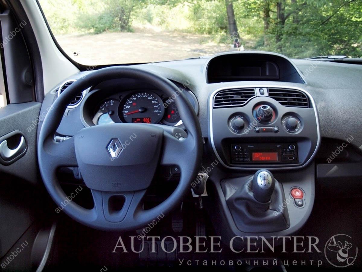 Renault Kangoo (нестандартная установка магнитолы)