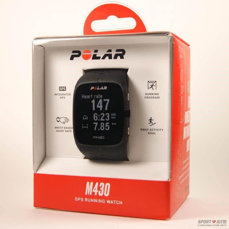 Polar M430 черного цвета в коробке