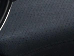 Вид обивки сиденья: экокожа перфорированная без прошивки