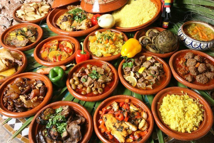 Кухня Марокко: сочно, вкусно, разнообразно