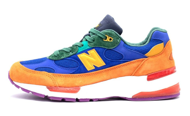 New Balance 992 «Мультиколор» - 1