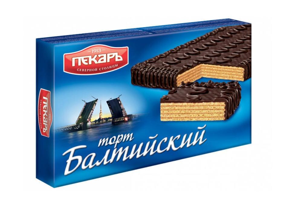 Торт вафельный Балтийский