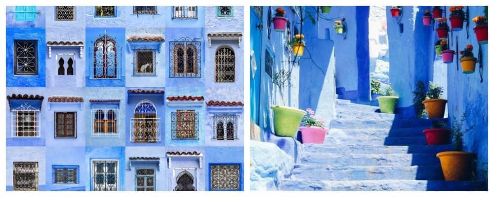 Шавен — Голубой город на севере Марокко