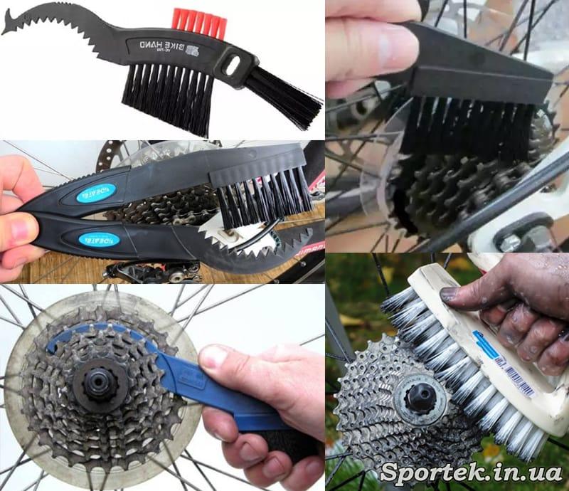 Чем и как мыть кассету при чистке цепи