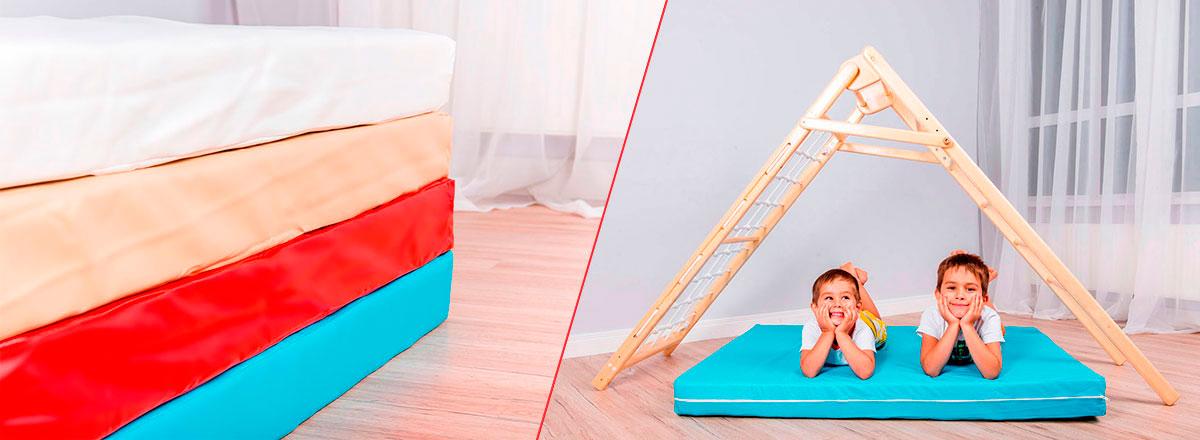 Универсальные складные спорткомплексы для детей от 1 года и до 100 кг.